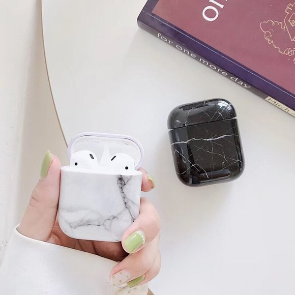 Accessories - NEW Marble Hard Apple Airpods 1 2 Pro case